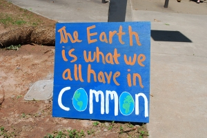 The earth is what we have in common